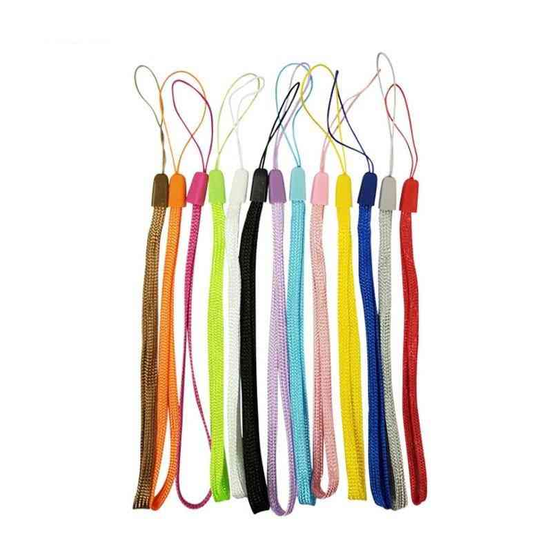 10pcs/lot Mobile Phone Strap For Iphone, Keys Lanyard Wrist Strap