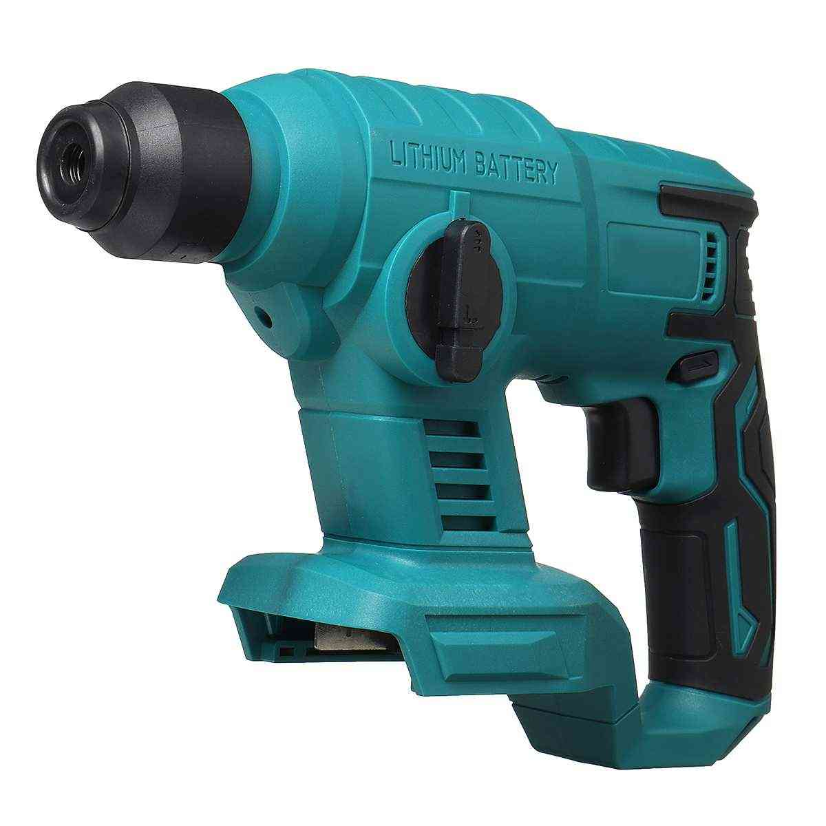 Electric Hammer Drill Without Battery Case For 18v Makita Battery