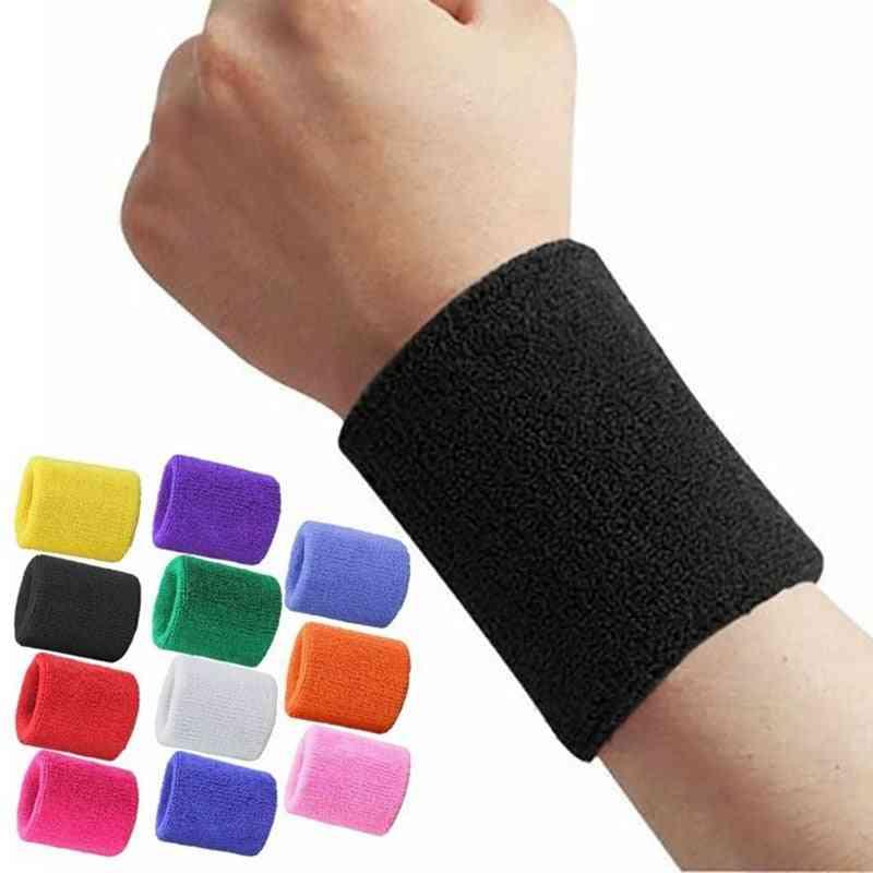 Unisex Terry Cloth Cotton Arm Sweatband