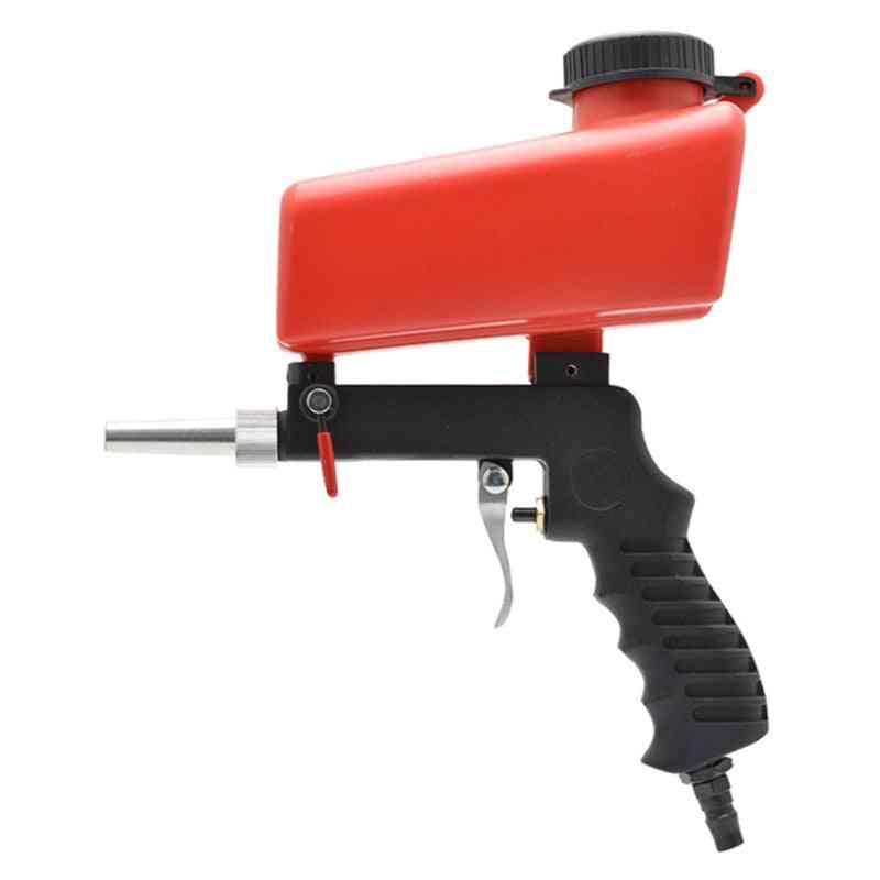 Portable Gravity Sandblasting Gun Pneumatic Sandblasting Set