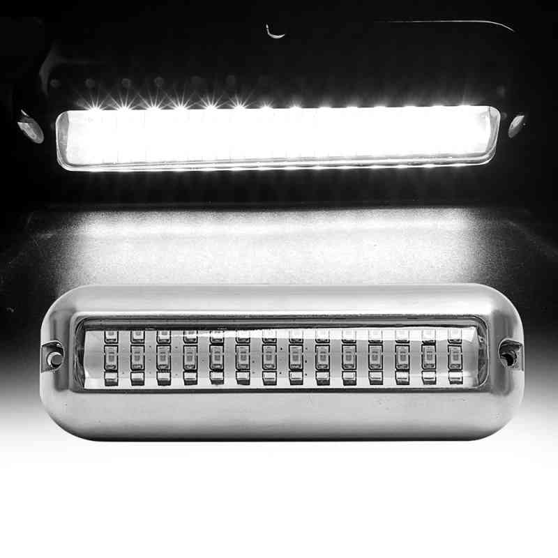 Led Car Underwater Fishing Light, Boat Transom, Night Water, Landscape Lighting For Marine Boat Accessories