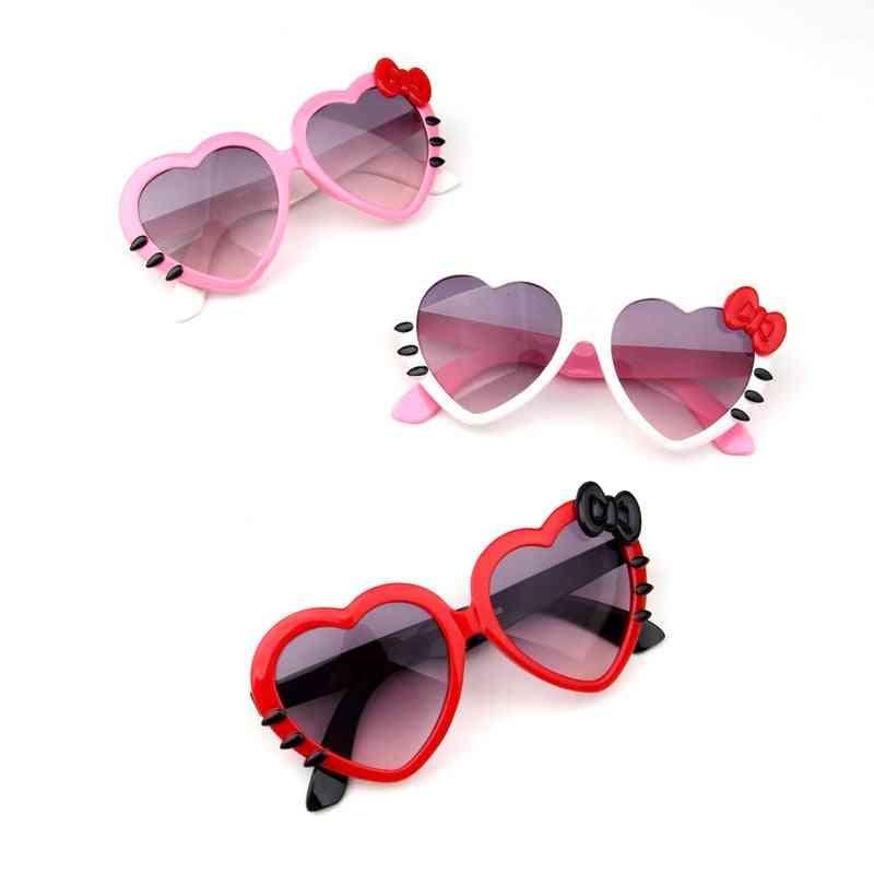 Children Heart Sunglasses