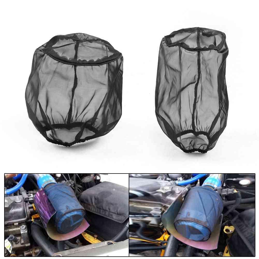 Air Filter Protective Cover, Waterproof, Oilproof, Dustproof, High Flow Intake Filters