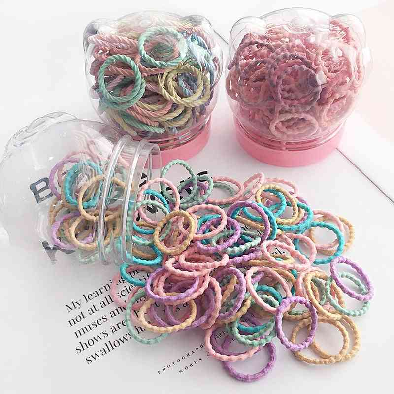 Children Cute Colors Soft Elastic Hair Bands