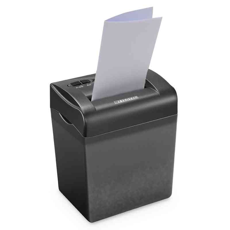 Electric Mini Shredder, Strip Office, Home, Electric Shredding Paper, Card