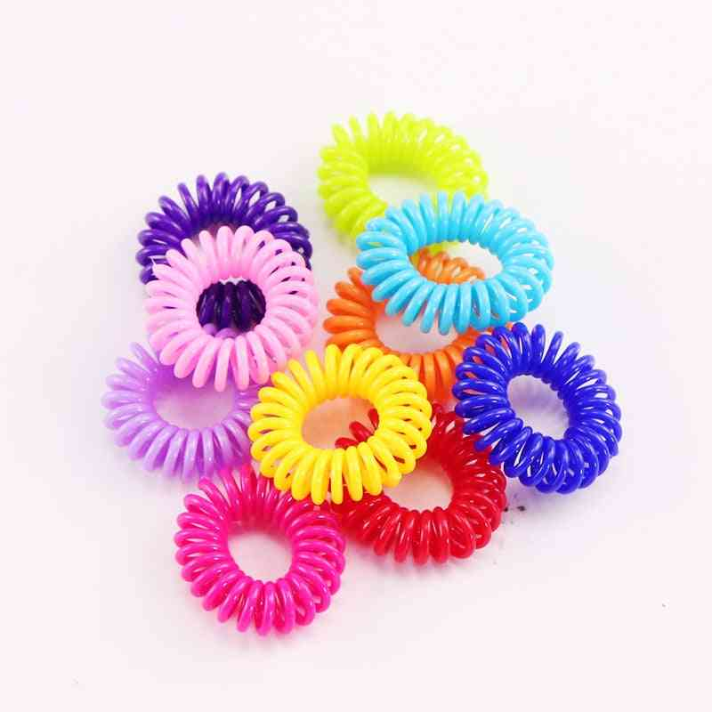Kids Small Elastic Colorful Hair Bands