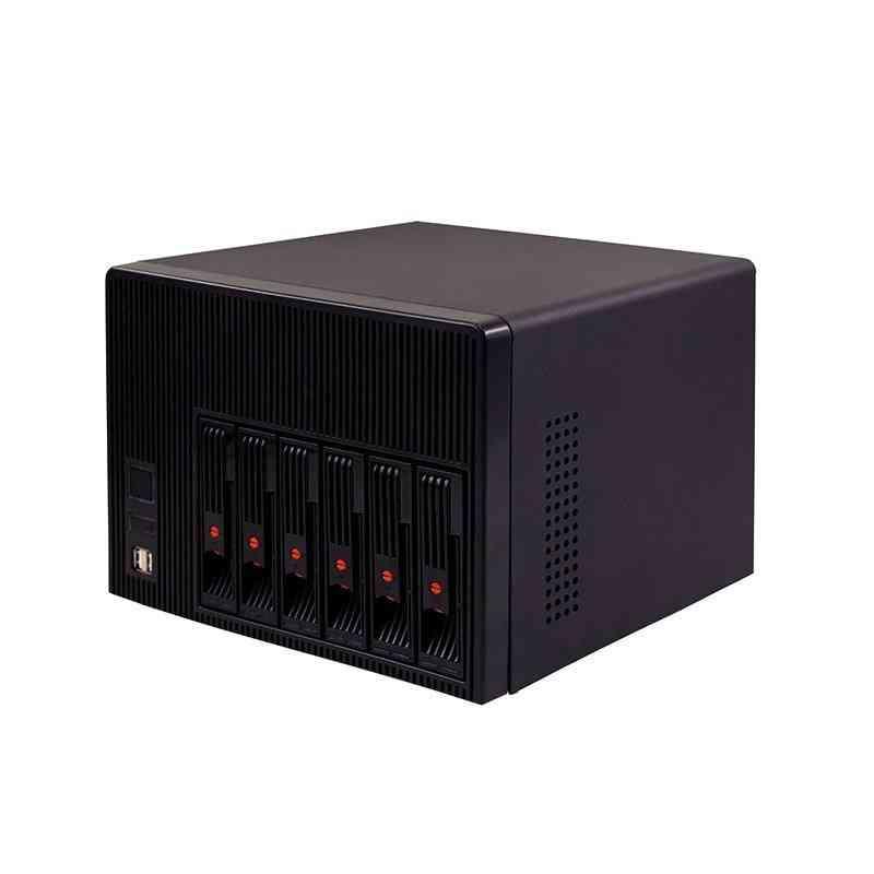 New High Quality 6bays Nas Storage Case Hot Swap Server
