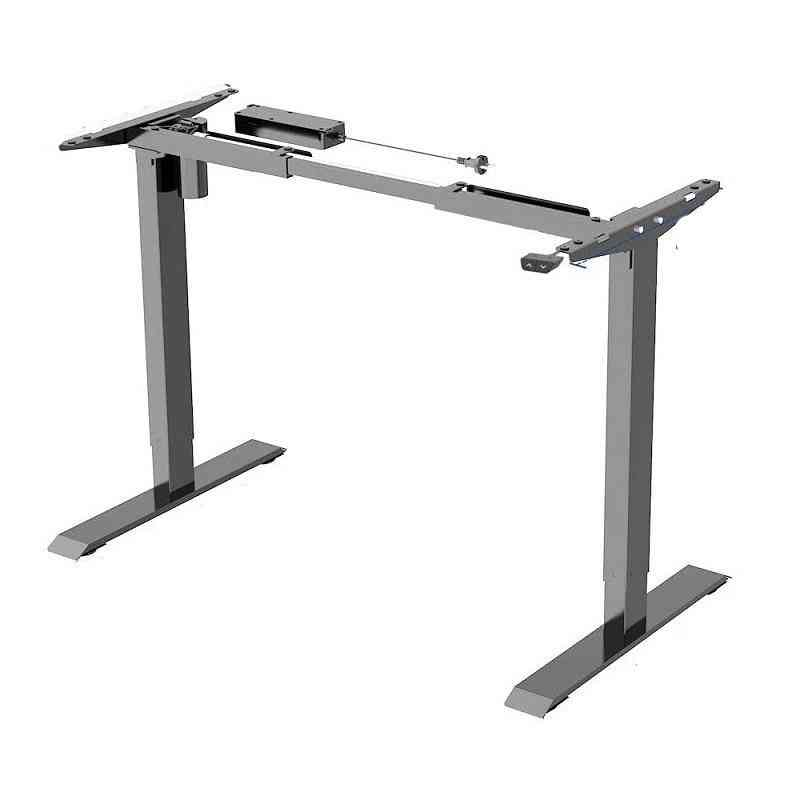 Height Adjustable Electric Standing Desk Electric Motor Lift Desk Two-stage Automatic Stand Up Desk With Smart Keyboard