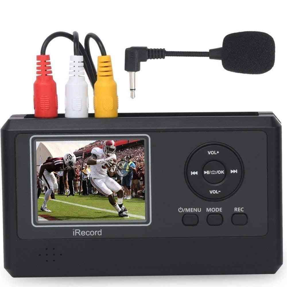 Vhs To Digital Video Converter , Video Capture Digitizes Video Tapes Directly To Memory Card From Hi8,camcorder, Dv