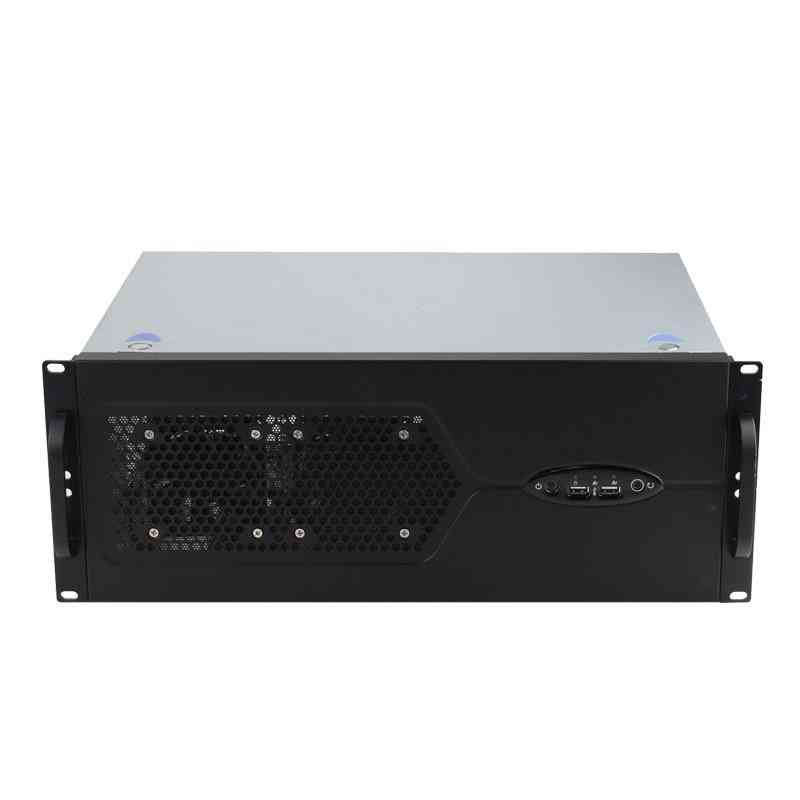 4u 300mm Depth Rackmount Industrial Server Chassis Support Atx Motherboard