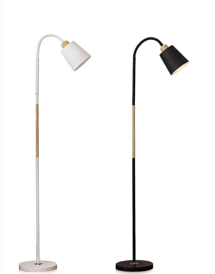 Standing Simple  E27 Floor Corner Standing Lamp & Reading Light