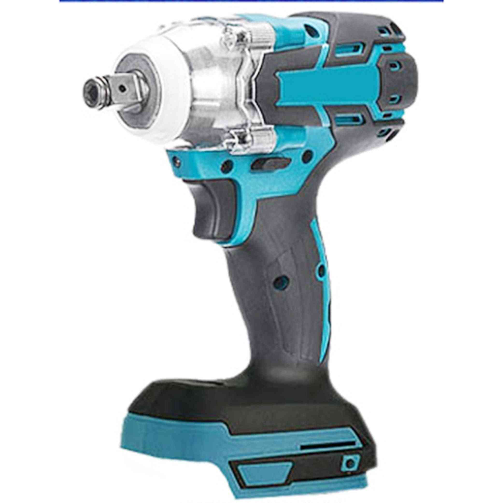 Cordless Impact Wrench Driver Torque 1/2'' Socket