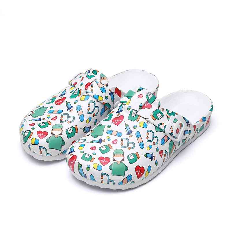 Nurse Clogs, Surgical Work Slippers / Shoes