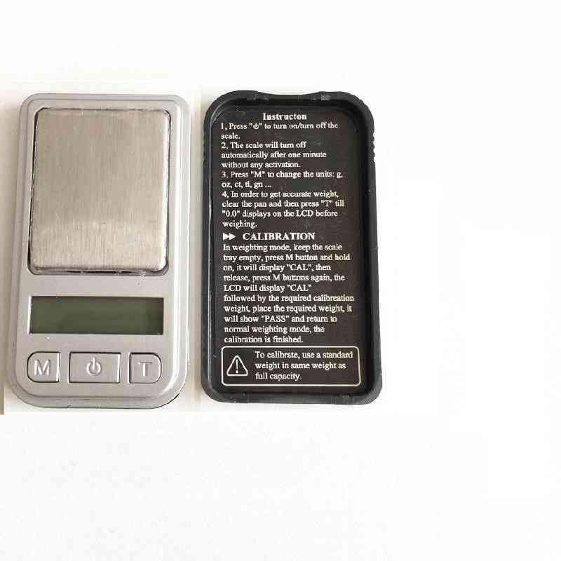 Mini Digital Scale High Accuracy Backlight Electric Pocket Scale