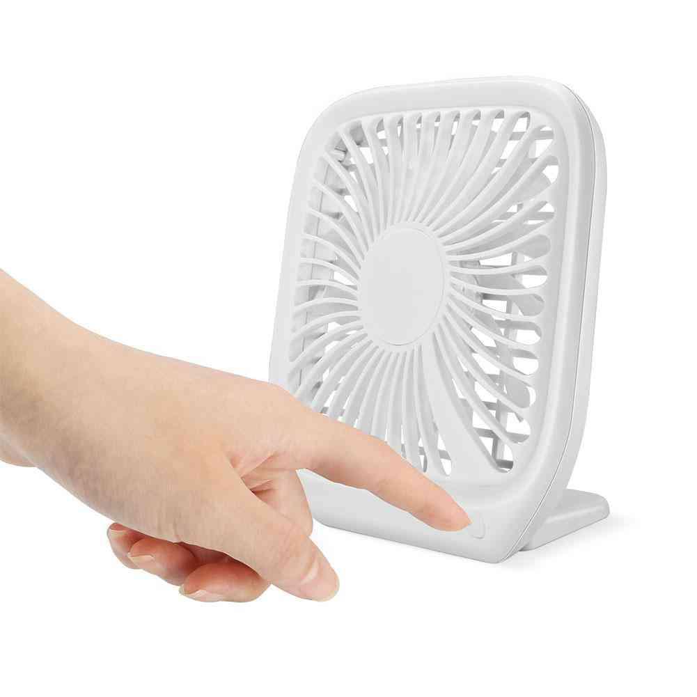 Portable Mini Usb Charging Noiseless Desktop Electric Fan