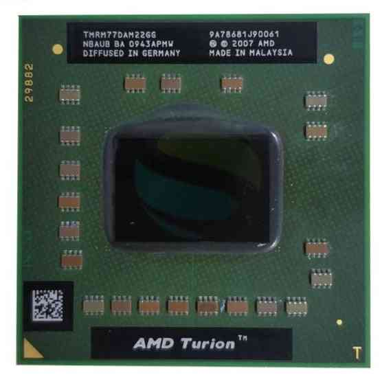 Amd Turion 64x2 Mobile Technology 2.3ghz Dual-core &thread Cpu Processor