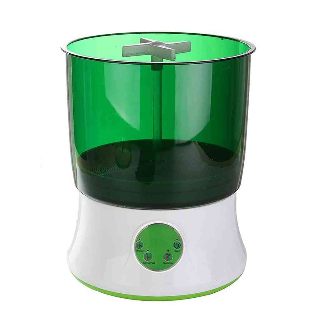 Digital Home Diy Bean Sprouts Maker, Automatic Electric Germinator, Seed Vegetable Seedling Growth Bucket