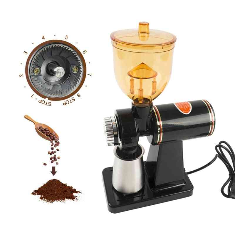 Household Electric Coffee Bean Grinder Cone, Burr Stainless Steel