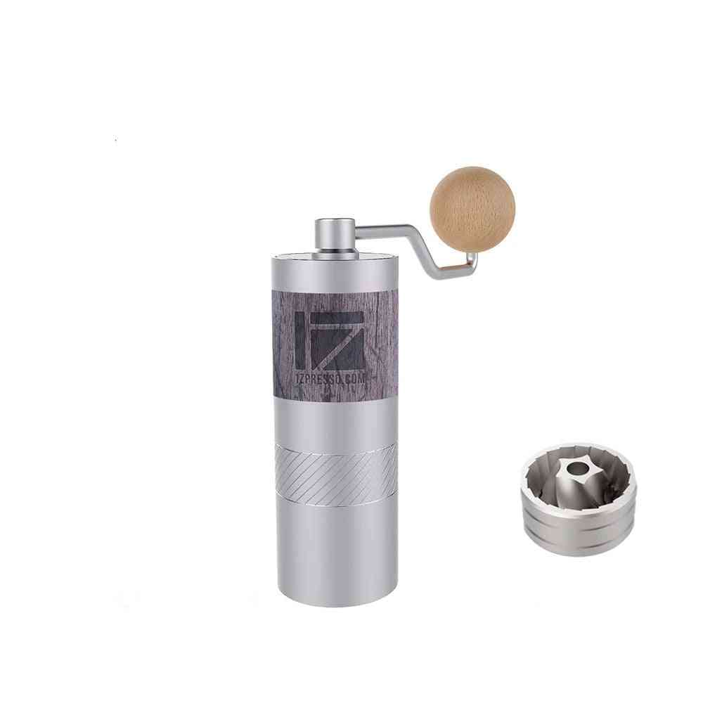 Aluminum Alloy Portable Coffee Grinder, Mill Grinding Core, Super Manual