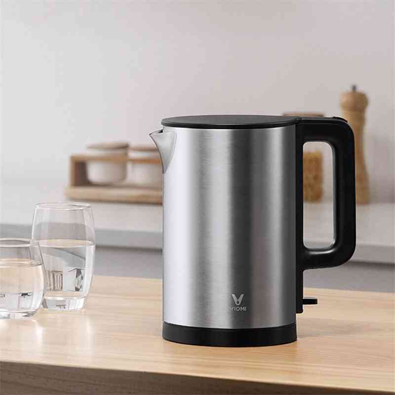 Stainless Steel Kitchen Smart Whistle Electric Kettle