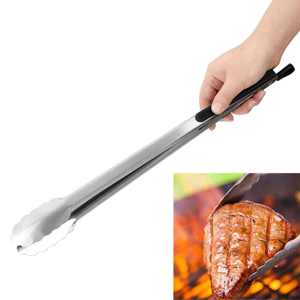 Salad Food Clip, Bbq Tongs, Stainless Steel Kitchen Tools