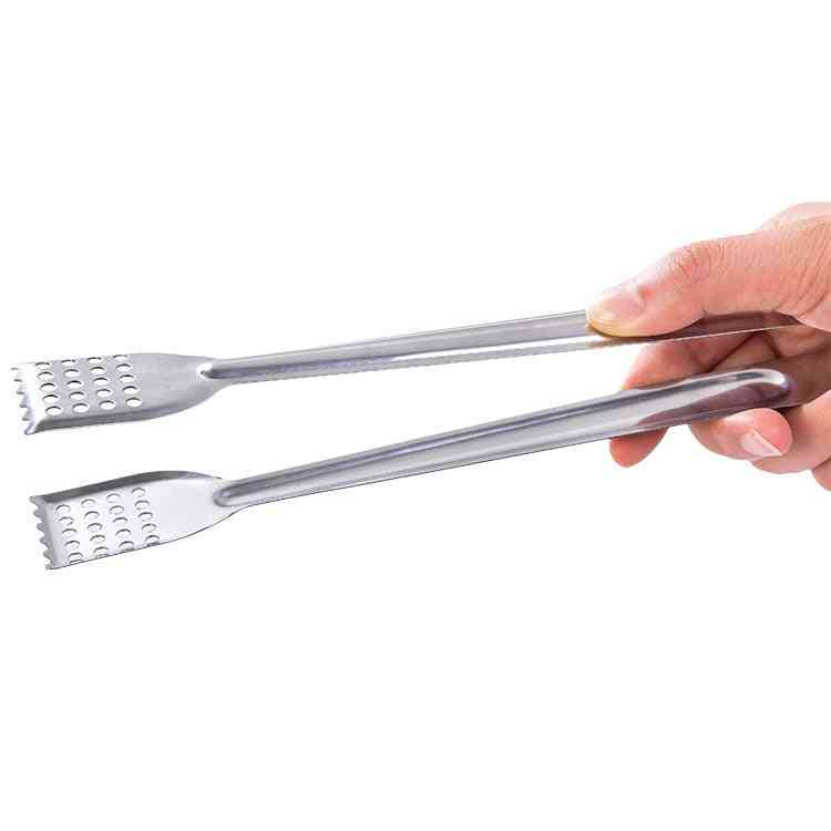 Bbq Stainless Steel Handle, Kitchen Tongs