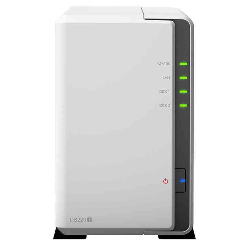 Disk Station Ds220j 2-bay Nas Diskless Nas Server Nfs Network&cloud Storage