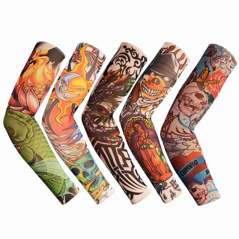 1pc 3d Tattoo Men Arm Cover