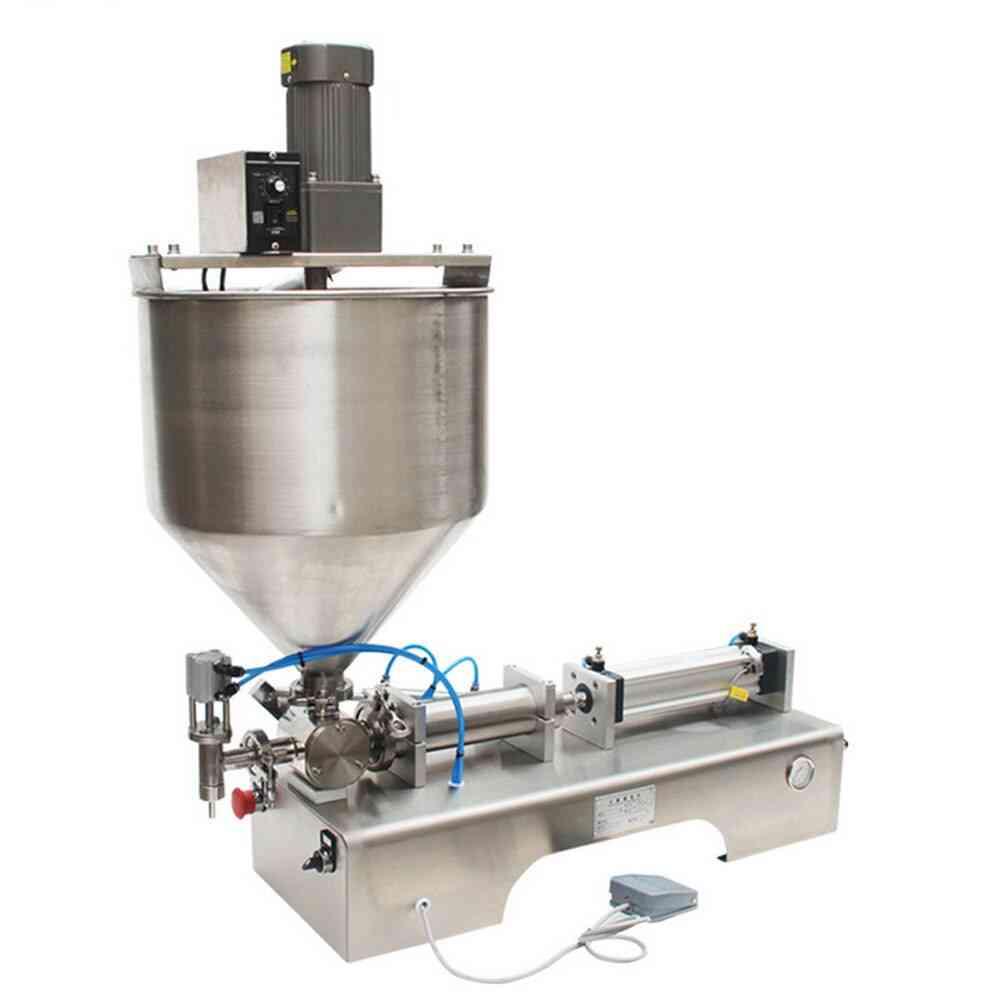 Stainless Steel Foot Type Paste Filling Machine, Cream Bottle Liquid Machines