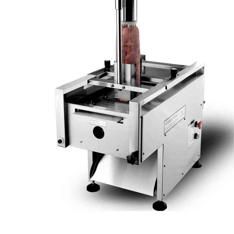 Cross-cut Commercial Automatic Slicer, Hot Pot Restaurant, Special Beef, Lamb Meat Planing Machine