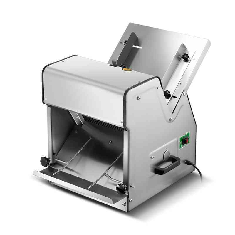 Automatic Electric Bread Slicer, Stainless Steel Commercial Slicers