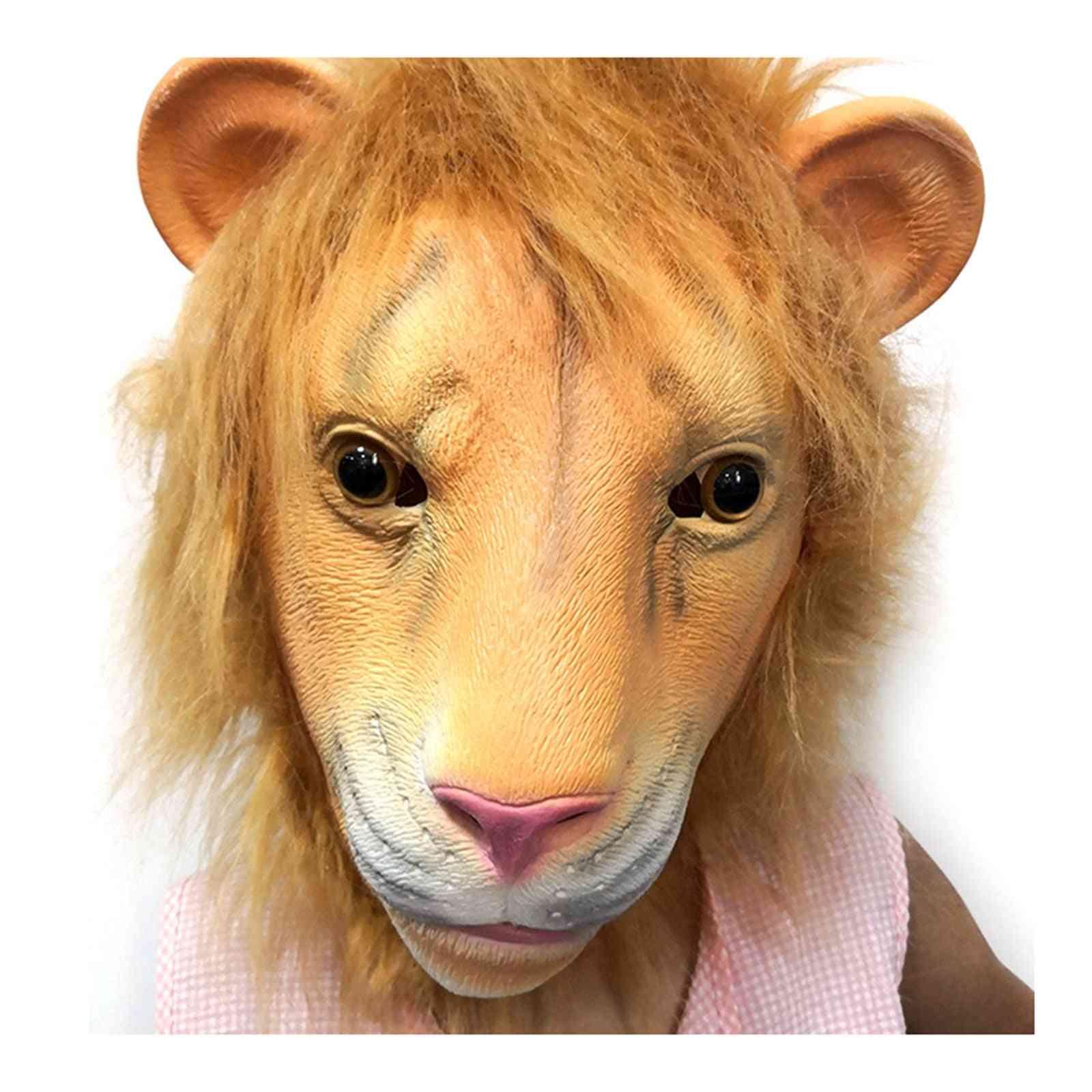 Lions Headgear. Christmas Easter Party Animal Headgear