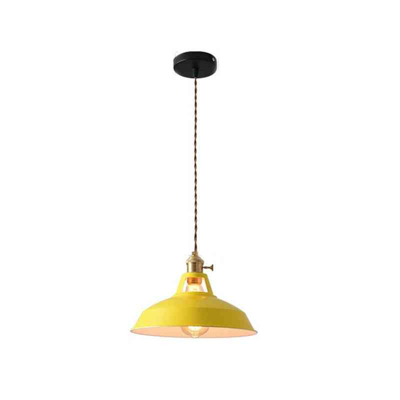 Retro Industrial Style Colorful Restaurant Kitchen Home Lamp