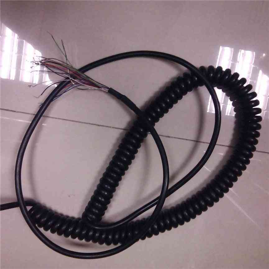 Cores Coiled Spring Spiral Shield Cabl