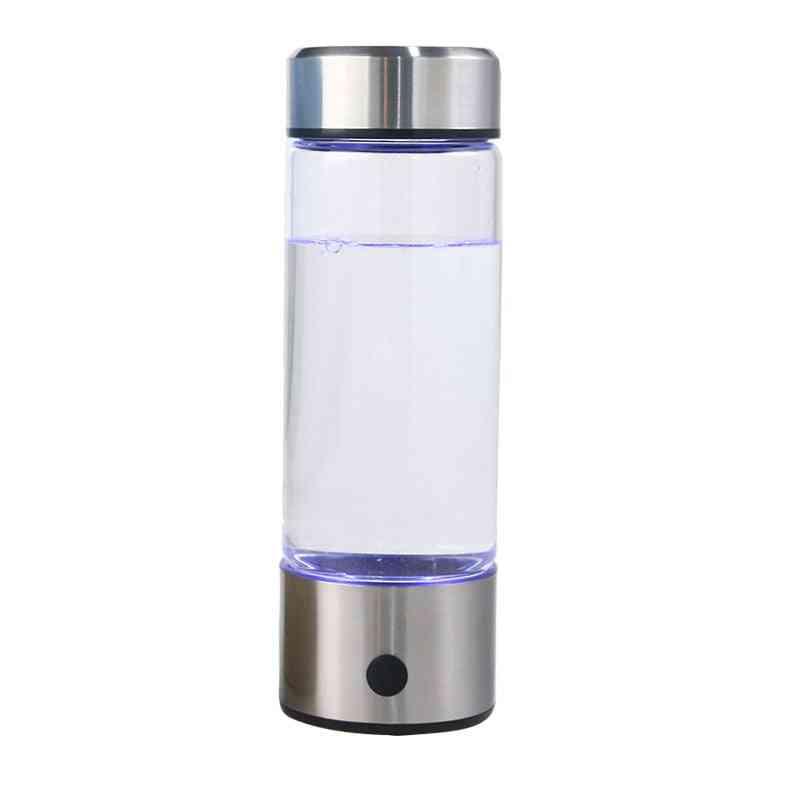 Hydrogen Water Generator, Alkaline Maker, Rechargeable, Pure Hydrogen-bottle