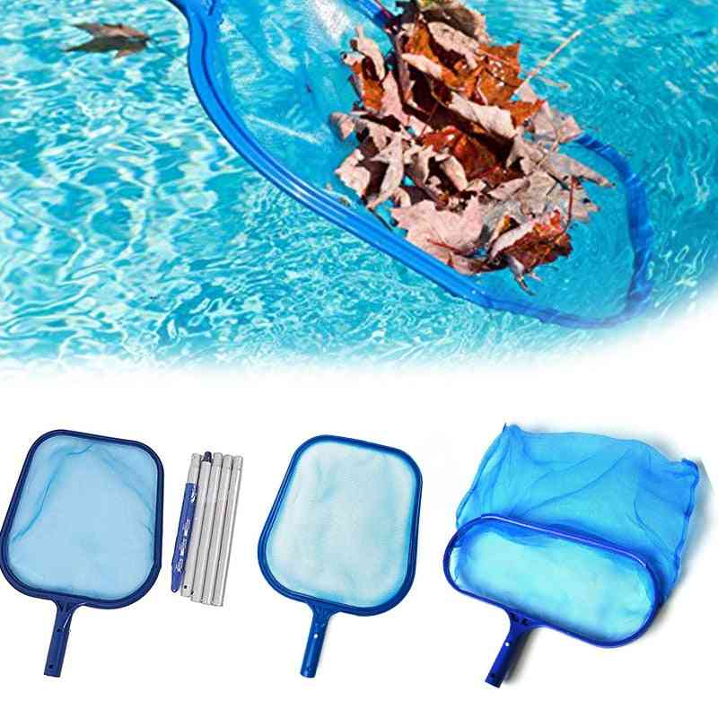 Professional Salvage Net Mesh Pool Skimmer Leaf Catcher Bag, Pool Cleaning Net