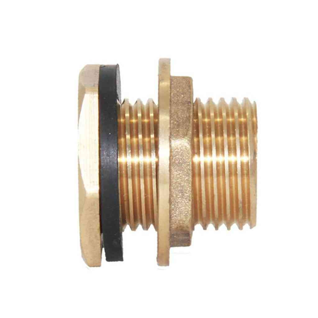 Dn15 Brass Water Tank Container Hose Water Tube Pipe Connector