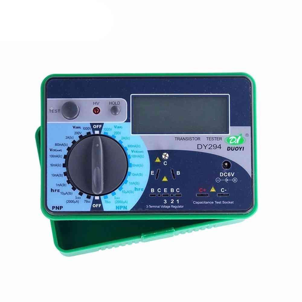 Transistor Analyzer Tester Semiconductor Reverse Ac Dc Voltage Capacitance Fet