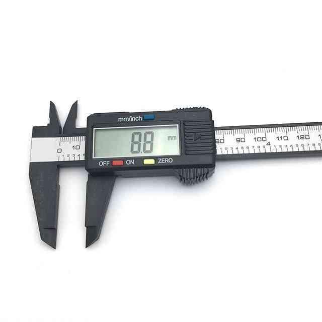 Stainless Steel/plastic Lcd Digital Caliper 6 Inch Instrument Depth Measuring Tools