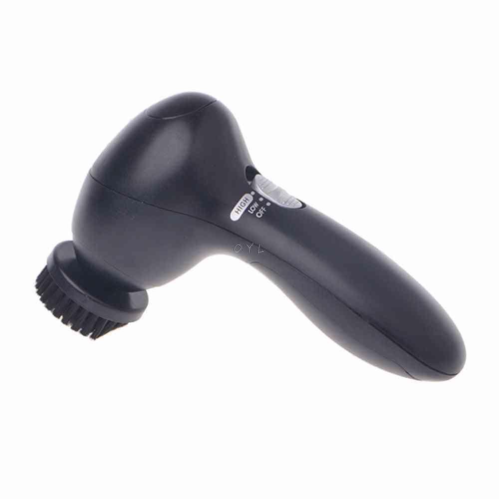 Handheld Automatic Electric Shoe Brush Shine Polisher, Battery Power Supply