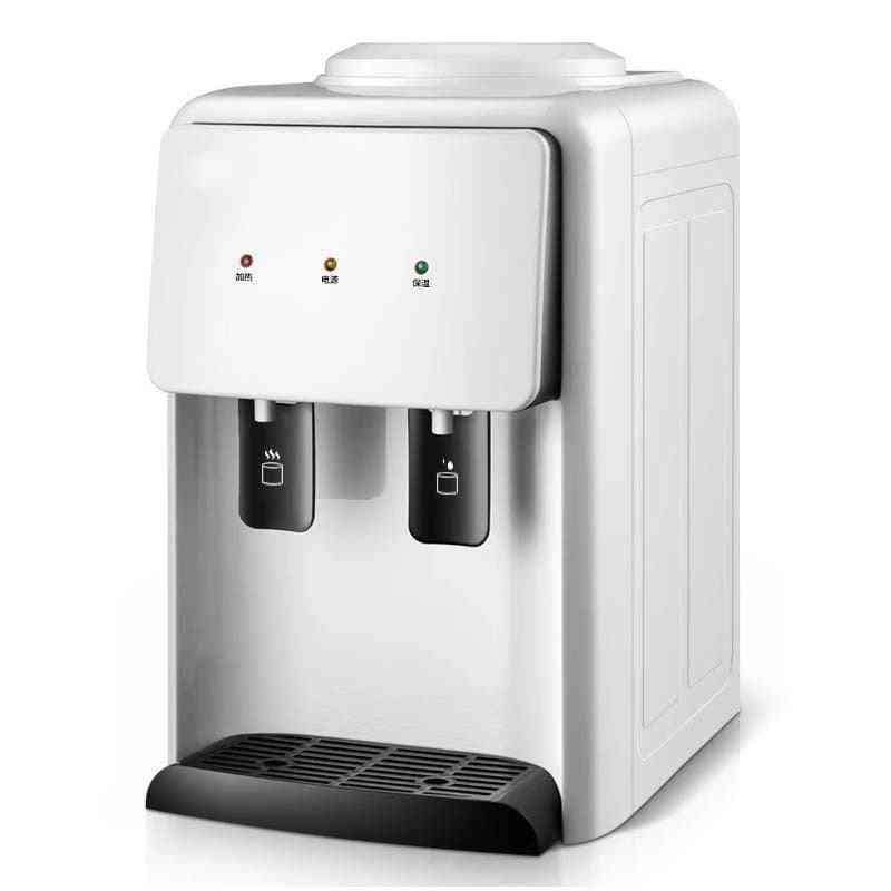 Water Dispenser, Ice Hot Desktop, Refrigeration Hot Household Water Dormitory Energy-saving Ice Warm