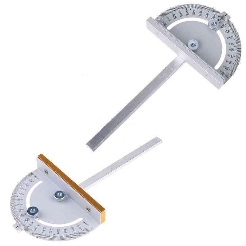 Mini Table Saw Circular Saw T Style Groove Angle Ruler