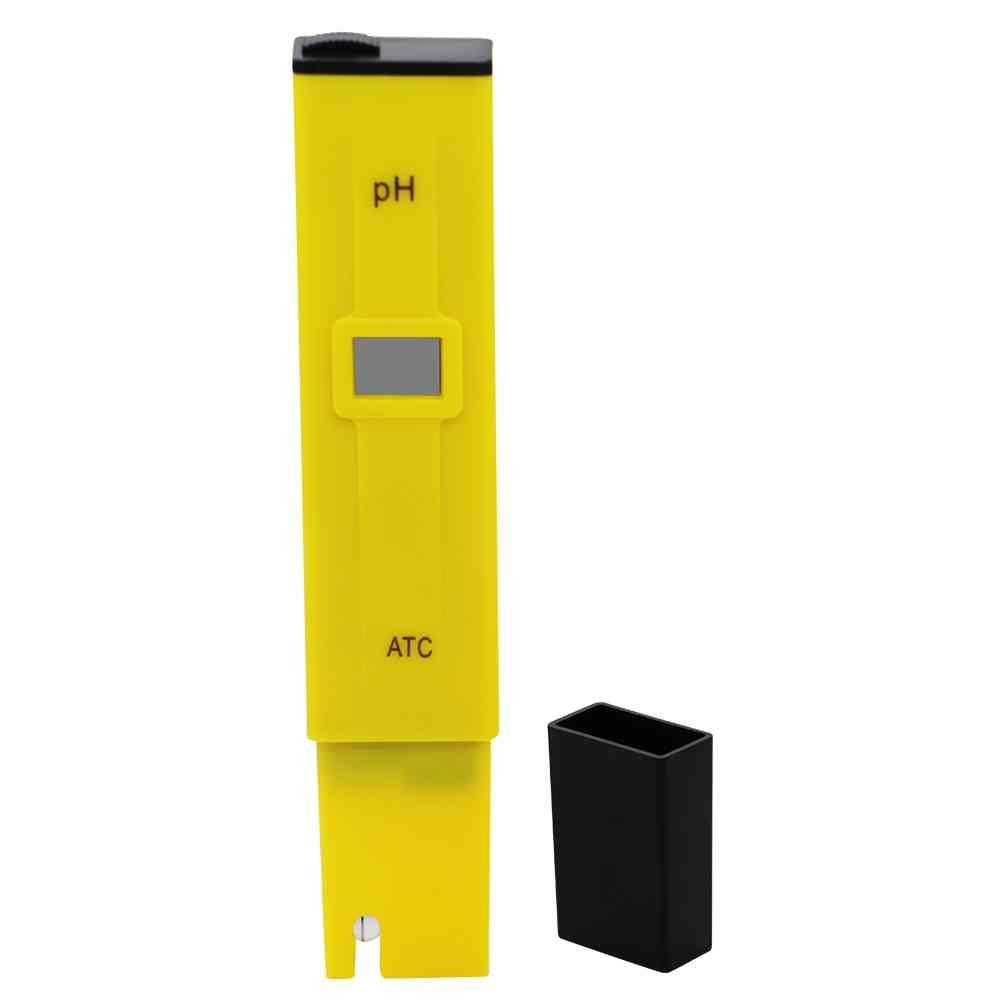 Ph Value Test Pen Aquarium Ph Tester Pen Water Accurate Digital