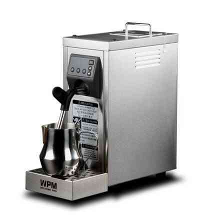 Automatic Professional Milk Steamer With Temperature Setting/stainless Steel Frother Machine