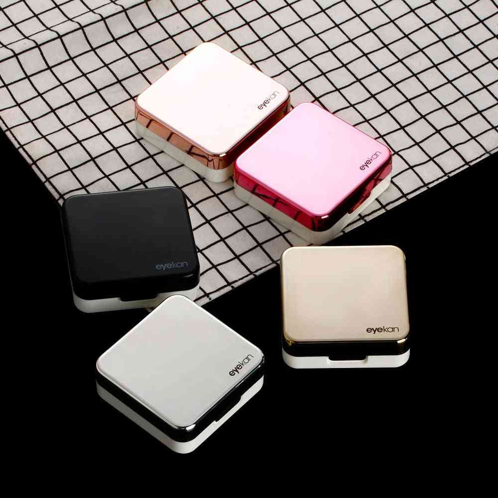 Plastic Square Mirror Lens Case