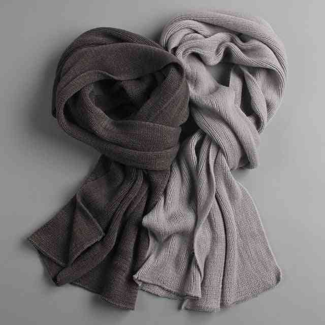 Knit Spring Unisex Thick Warm Winter Scarves