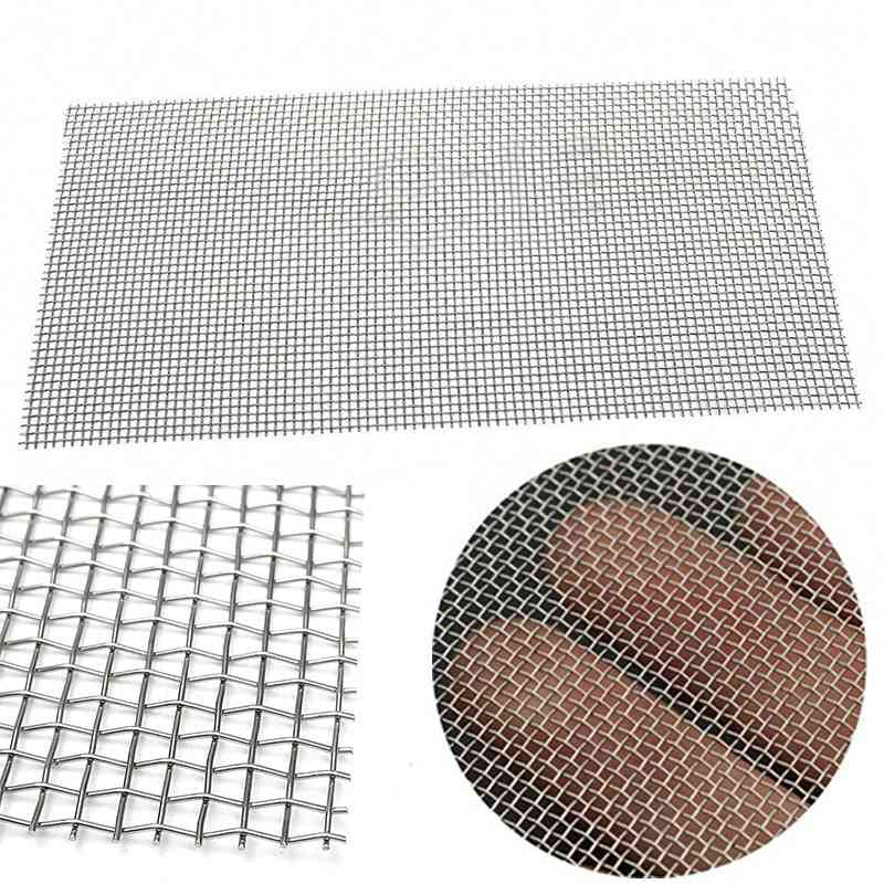 Mesh Woven Wire High Quality Stainless Steel Screening Filter Sheet