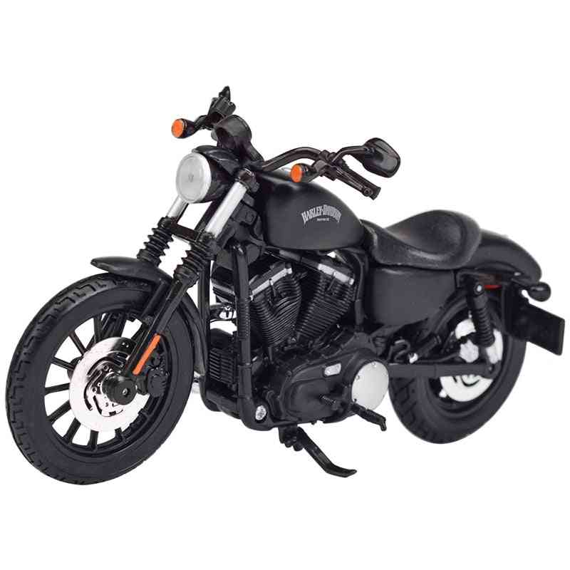 Sportster Iron Street Glide Road King Cvo Breakout Electra Alloy Motorcycle Model Toy