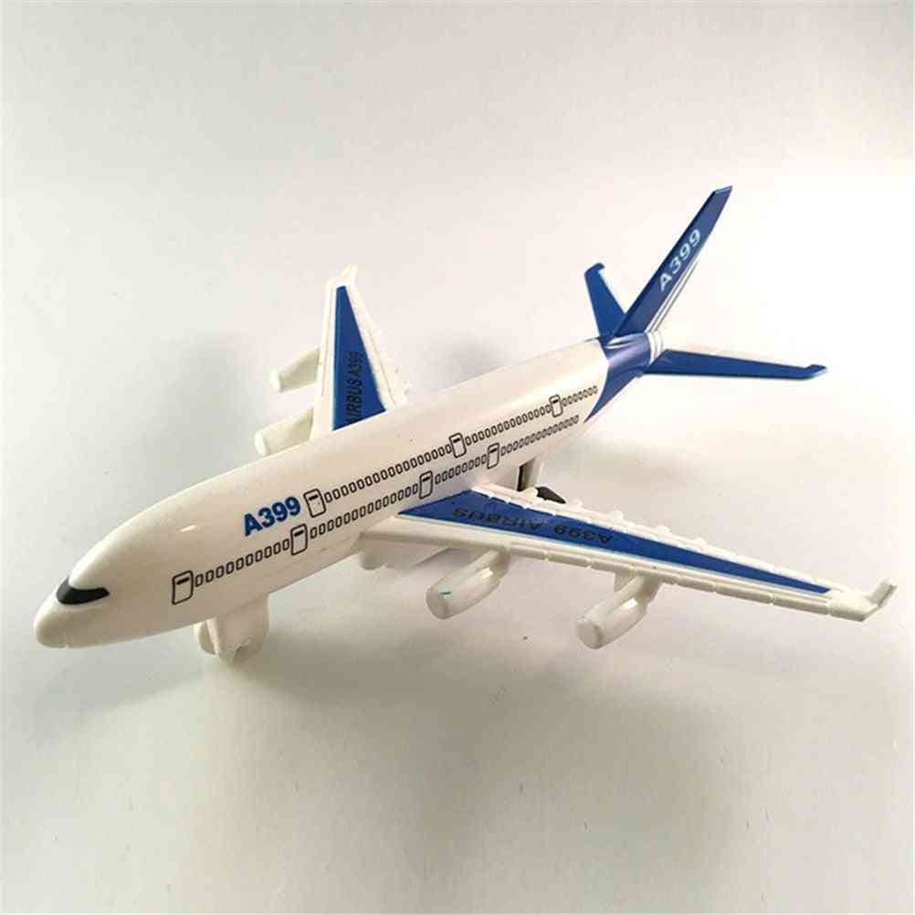 Air Bus Model Kids Fishing Airliner Passenger Plane Toy