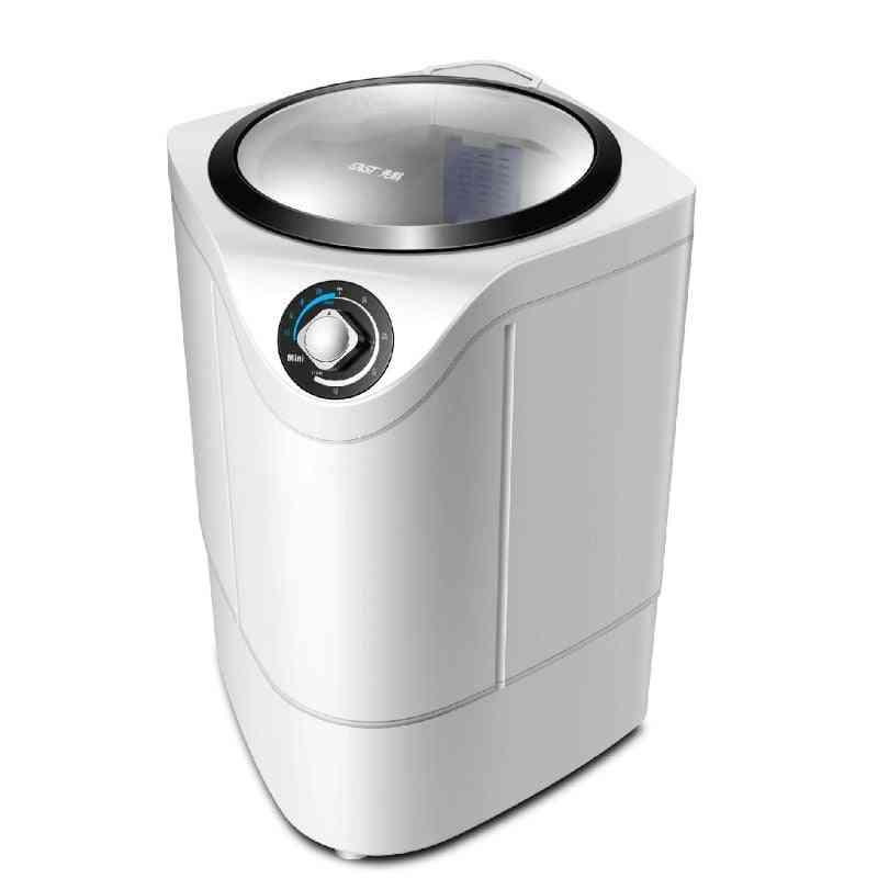 Household Single Barrel Mini Washing Machine, Sterilization  Washer And Dryer